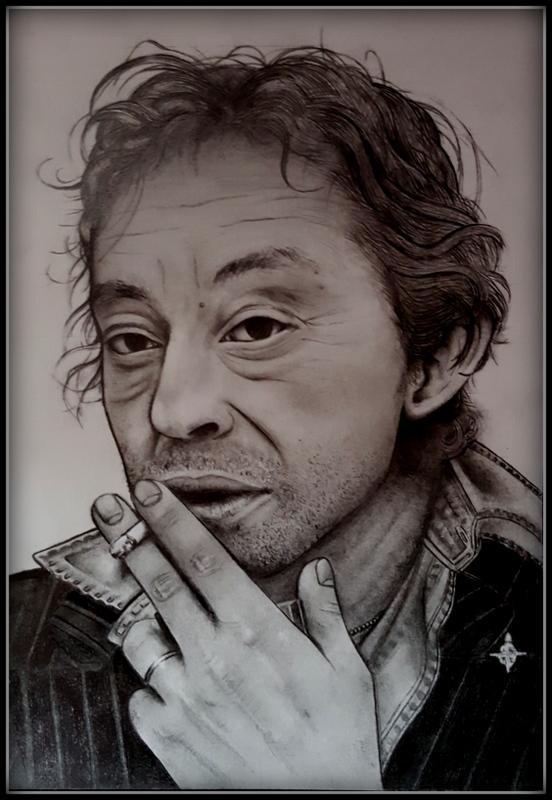 Serge Gainsbourg by Etoile-de-cristal